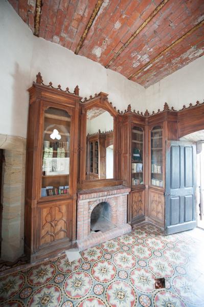 Rennes-le-Château, dans la tour Magdalena