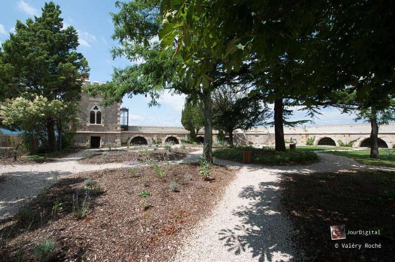 Rennes-le-Château, vue du parc