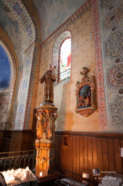 Rennes-le-Château, Saint Vincent de Paul et chemin de croix