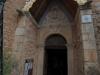 l\'entrée de l\'église de Rennes-le-Château