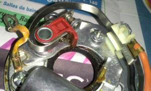 distributeur 45D4 contact set