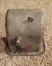 """une """"pedal-box"""" prête à accueillir un contacteur mécanique"""